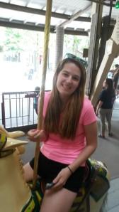 Annabelle at Knoebel's Amusement Park 2014