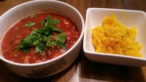 Chili and delicata