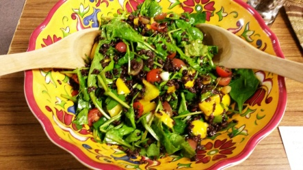 Black rice salad 2