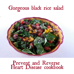 Black rice salad party