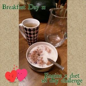 Breakfast day 11