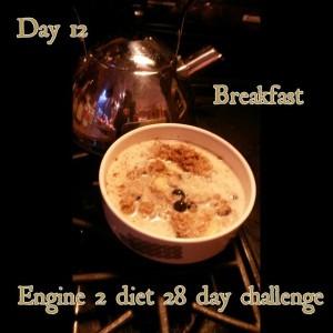 Day 12 breakfast