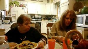 Edie and Marlene