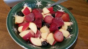 Frosty fruit salad