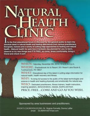 Health Fair Tunkhannock
