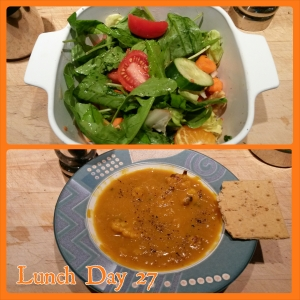 Lunch day 27