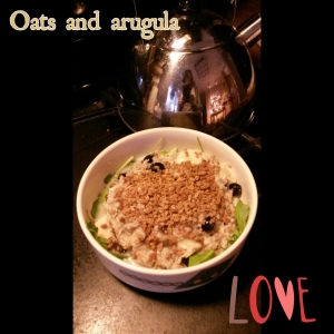 Oats and arugula love