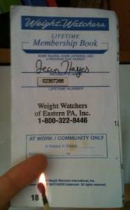 Goodbye Weight Watchers!