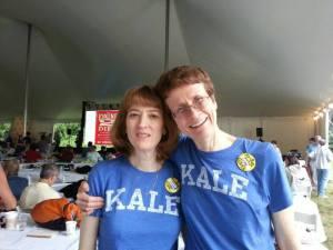 Lisa and I