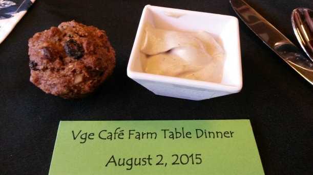 Farm to table muffin