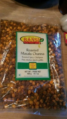 Roasted channa