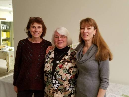 Virginia, Debbie, and me